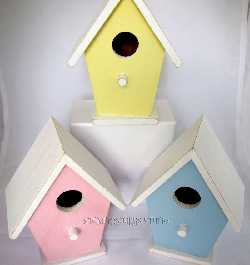 Birdhouse-trio