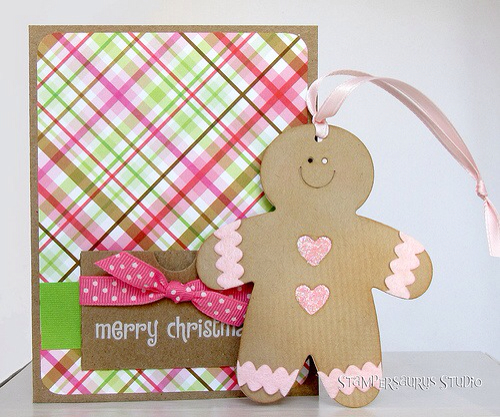 Gingerbread card/tag